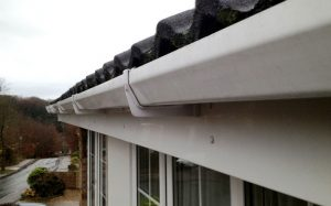 Gutter small after
